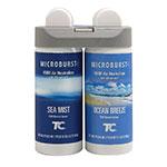 Rubbermaid 3485951 Microburst Duet Ocean Breeze & Sea Mist Refill