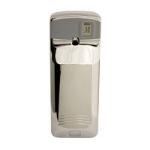 Rubbermaid FG401196 Standard Aerosol LCD Odor Control Dispenser, Chrome