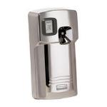 Rubbermaid FG401278 Microburst 3000 LCD Odor Control Dispenser, Chrome