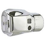 Rubbermaid FG401805A Clamp For Auto Flush Toilet, Polished Chrome