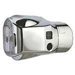 Rubbermaid FG402059A Metal Clamp For Auto Flush Toilet, Polished Chrome