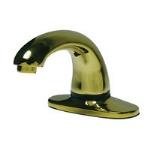 Rubbermaid FG500495 Milano Auto Faucet w/ 8-in Center, Brass