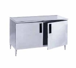 Advance Tabco HB-SS-2410 120-in Table, Cabinet Base w/ Doors, 24-in Wide