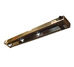 APW Wyott FD-48L-I 208 48 in Heat Lamp, Single Rod, 800 Low Watt, Infinite Control, 208 V