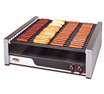 APW Wyott HRS-75 240 Hot Dog Grill, Non Stick Rollers, 1350-Franks, 240 V
