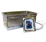 APW Wyott TM-90D UL Drop-in Food Warmer, 12 x 20-in Pan Opening & Drain, 120 V, UL