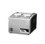 APW Wyott W-12 Drop-in Food Warmer, Half Size Pan Opening, 120 V
