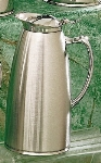 Bon Chef 4053S 64-oz Insulated Pitcher Server, Stainless Steel w/ Satin Finish
