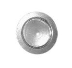 Bon Chef 1042S CARA 8-in Salad Plate, Aluminum/Caramel
