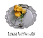 Bon Chef 2036DP Round Divided Platter, Aluminum/Pewter-Glo