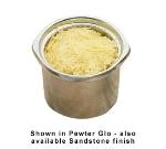 Bon Chef 3016P 10-oz Soup Crock, Aluminum/Pewter-Glo