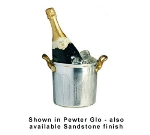Bon Chef 4036S TAN 3.5-qt Champagne Ice Bucket, Aluminum/Tan