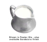 Bon Chef 4042S WH 5-oz Traditional Creamer, Aluminum/White