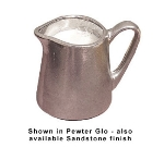 Bon Chef 4043P 6-oz Contemporary Creamer, Aluminum/Pewter-Glo