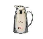Bon Chef 4050M2 10-oz Insulated Pitcher Server w/ Crest, Marriott 2%, Stainless