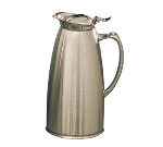 Bon Chef 4051S 20-oz Insulated Pitcher Server, Stainless w/ Satin Finish