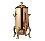 Bon Chef 44003 3-Gallon Insulated Coffee Urn Server, Heavy Gauge, Copper Plate