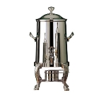Bon Chef 47103C 3.5-Gallon Coffee Urn Server, Solid Fuel, Chrome, Renaissance