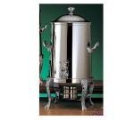 Bon Chef 47105C 5.5-Gallon Coffee Urn Server, Solid Fuel, Chrome, Renaissance