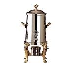 Bon Chef 48101 2-Gallon Coffee Urn Server, Solid Fuel, Lion