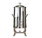 Bon Chef 49003C 3-Gallon Insulated Coffee Urn Server, Chrome, Roman
