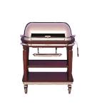 Bon Chef 50000 Roast Beef Trolley, Roll Back w/ Carving Board, Knife Tray