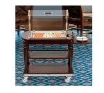 Bon Chef 50070 Cheese Cart, 38 x 23.5 x 43-in High