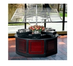 Bon Chef 50103 Circular Buffet Station w/ 6-Pan Display