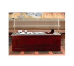 Bon Chef 50113CT 6-ft. American Buffet Station w/ Standard Corian Top