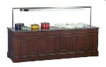 Bon Chef 50122 96-in Buffet w/ Overhead Radiant Heat