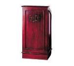 Bon Chef 50220 WALM Executive Style Podium, Walnut Mahogany