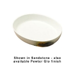 Bon Chef 5062S GIN 20-oz Oval Serving Casserole Dish, Aluminum/Ginger