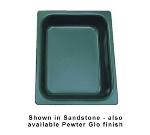 Bon Chef 5065P 1/2-Size Chafer Food Pan, 2.75-in Deep, Aluminum/Pewter-Glo