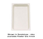 Bon Chef 5066S IVOS Full Size Chafer Food Pan, 2.75-in Deep, Aluminum/Ivory Speckled