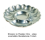 Bon Chef 5080S TAN 8.75-in Seafood Artichoke Plate, 6-Hole, Aluminum/Tan