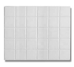 Bon Chef 52001S DROS 1/2-Size Tile, Aluminum/Dusty Rose
