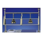 Bon Chef 90092 Single Sneeze Guard For 6-ft. Modular Buffet, Brass