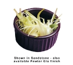 Bon Chef 9024S DKBL 2-oz Fluted Ramekin, Aluminum/Dark Blue