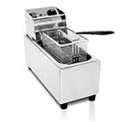 Eurodib SFE01860-220 Countertop Fryer w/ 8-Liter Capacity, Stainless, 220 V