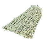 Carlisle 369024C00 Screw Top Mop Head, Natural Cotton Yarn, #24