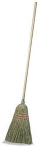 Carlisle 4134967 55-in Upright Kitchen-Maid Broom w/ Straw Corn Blend Bristles