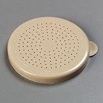 Carlisle 427106 Salt & Pepper Shaker Dredge Lid, Beige Polyethylene