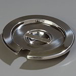 Carlisle 607704CS Slotted Inset Cover For 607704, Fits 4-qt Pot, Stainless