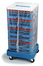 Carlisle RDC07 36-in OptiClean Rack Dust Cover, Vinyl, Clear