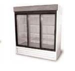 Delfield DMER45-SLG GoCart Glass Door Merchandiser w/ 2-Sliding Doors, Steel Exterior, 45-cu ft