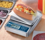 Edlund EDL-5 OP Heavy Duty Digital Scale w/ Oversized Platform, 5000 G x 1 G