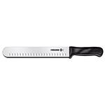 Victorinox - Swiss Army 40633 10-in Slicer Knife w/ Plastic Handle, Granton Edge
