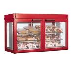 Hatco LFST-48-1X 208 COPPE Merchandising Cabinet w/ 2-Glass Rear Doors, Copper, 208 V