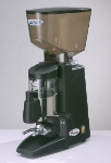 Dynamic 60 (60V1G) Santos Automatic Silence Espresso Coffee Grinder, Black, 100-120 V
