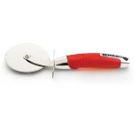 Zeroll 8758-AR Stainless Pizza Wheel w/ Ergonomic Handle, Apple Red